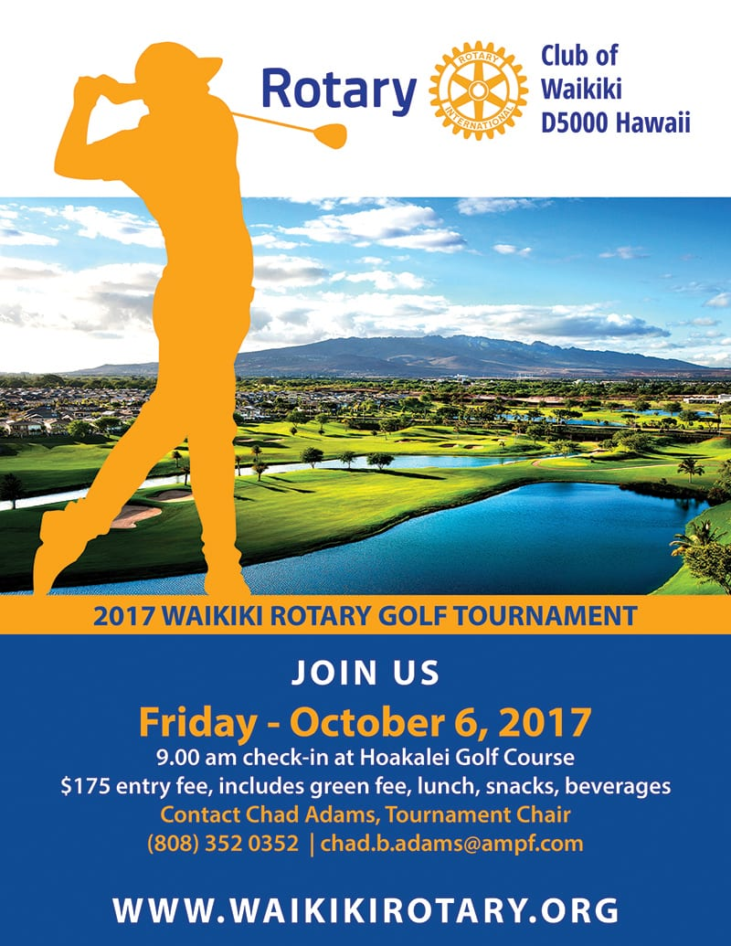 2017 WAIKIKI ROTARY GOLF TOURNAMENT-Hoakalei Golf Course @ Hoakalei Golf Course | Ewa Beach | Hawaii | United States