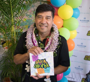 Weekly Rotary meeting - Barry Villamil | Stuck on Aloha @ TBA (tent)